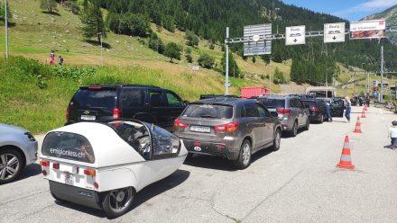 Avoiding traffic...