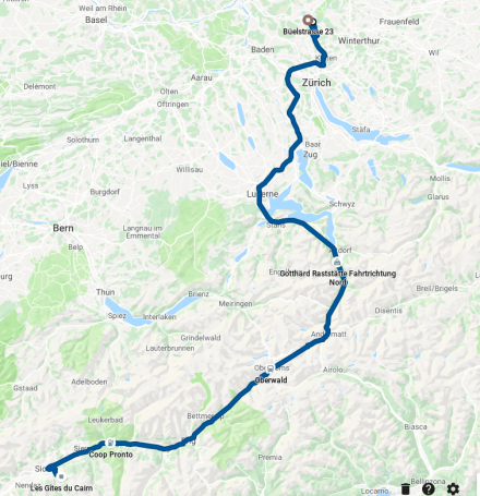 TDE2019 last day GPS track