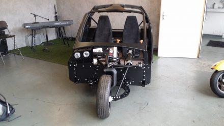 The vehicle shown at Geneva Auto Show