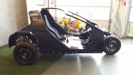 Same three-wheeler concept