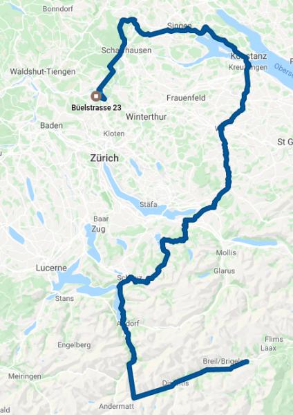 ODT GPS track