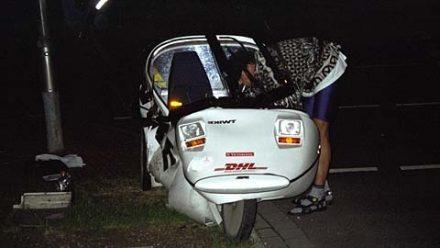 TW264 after crash
