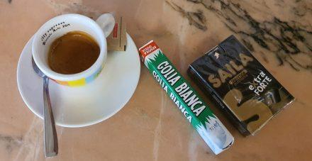 Coffee and liquorice