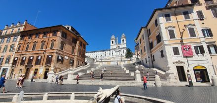 Never seen Piazza di Spagna like this
