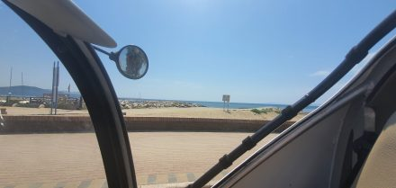 I love driving along the sea