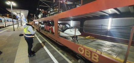 TW560's on its way back to Switzerland