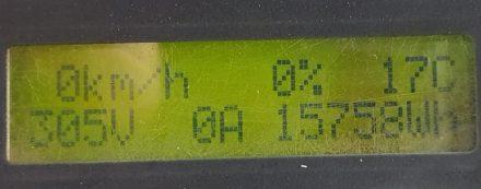 February 2021 Battery capacity