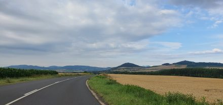 Love these rolling hills in southwestern France