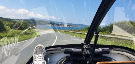 5 km to Spain