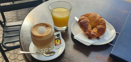 The best way to start a day in Spain!
