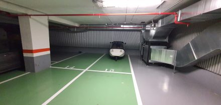 My parking space for the evening