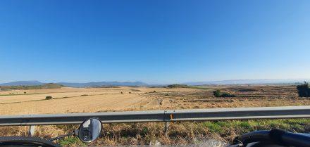 Vast spaces in northern Spain