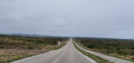 Further along the endless road - the end is in sight (...also, hills)