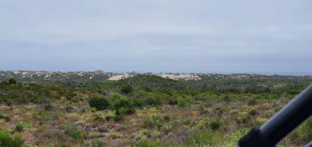 Sand dunes ahead