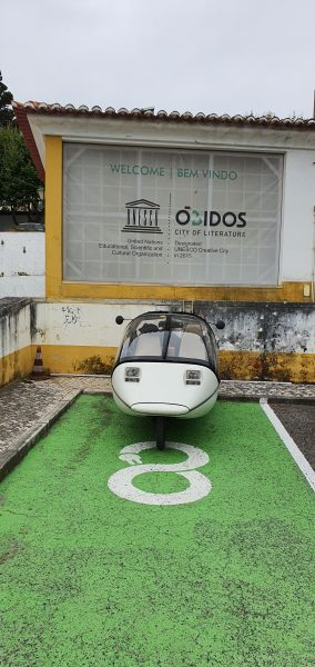 Obidos welcomes EV's (and your doin' it right)
