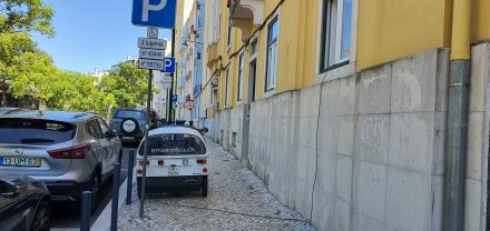 Street charging in Lisbon