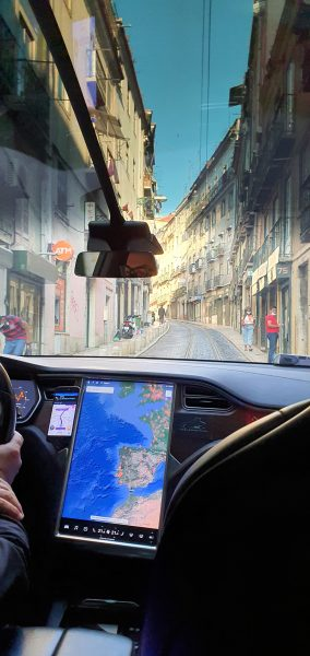 Lisbon as viewed from a Model X - works!