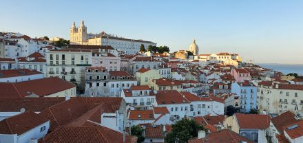 A part of Lisbon's old town