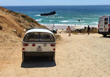 TW560 has made it to Portugal's most southern point