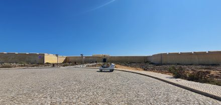 Sagres' Fort - officially the southern most point reachable by road