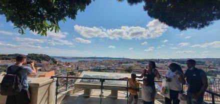 One of Lisbon's many Miradouro's