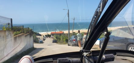 Approaching Salgado Beach