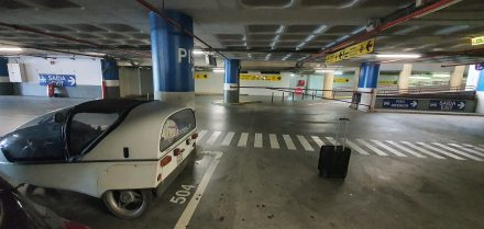 Parking in pole position