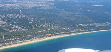 Costa di Caparica - where I stayed in April 2021