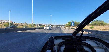 Leaving Lisbon on my way to Castel Branco