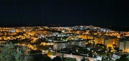 Castel Branco by night