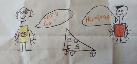 TWIKE's inspire kids drawings