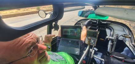 En-route video calls