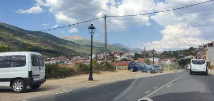 Slowly climbing Gredo valley