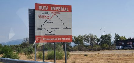 Driving along the imperial route